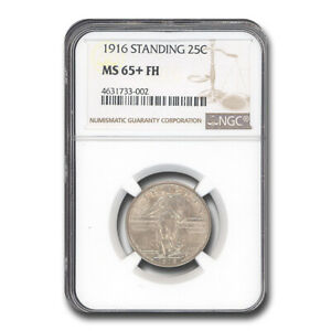 Click now to see the BUY IT NOW Price! 1916 STANDING LIBERTY QUARTER MS 65  NGC  FH    SKU237362