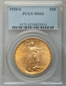 Click now to see the BUY IT NOW Price! 1920 S $20 ST GAUDENS MS62 PCGS  PA6839914