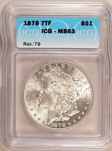 Click now to see the BUY IT NOW Price! MS 63 1878 REVERSE OF 1879 VAM 232 MORGAN DOLLAR SSDC POP 8/3 FINER SHIPS FREE
