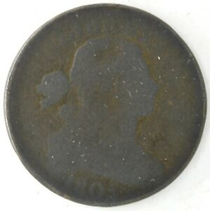 1805 DRAPED BUST FLOWING HAIR LARGE CENT US COPPER PENNY COIN UNITED STATES