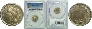 Click now to see the BUY IT NOW Price! 1884 NICKEL THREE CENT PIECE PCGS MS 65