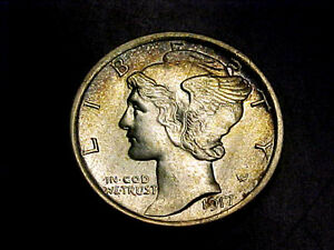 Click now to see the BUY IT NOW Price! STUNNING 1917 P MERCURY DIME BU UNC        PLUS FSB BUY IT NOW OR OFFER