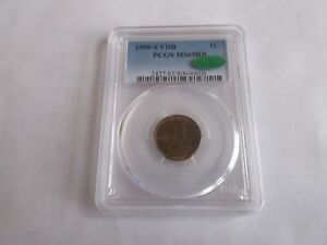 Click now to see the BUY IT NOW Price! 1909 S VDB  LINCOLN WHEAT CENT  PCGS  MS 65RB  CAC