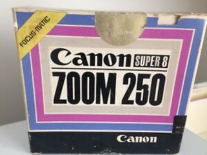 canon zoom 250 super 8 focus matic movie