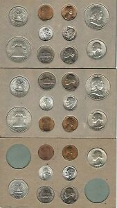 Click now to see the BUY IT NOW Price! 1948 P D S US DOUBLE MINT SET   28 CHOICE BRILLIANT UNCIRCULATED COINS