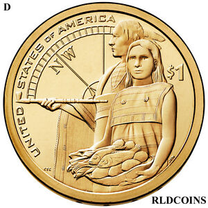 2014 D  NATIVE AMERICAN UNCIRCULATED DOLLAR   14D