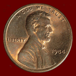 1984 P LINCOLN CENT. BUY ANY 3 FOR $1 OFF. SHIPS FREE. NR