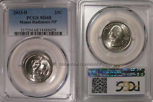 Click now to see the BUY IT NOW Price! 2013 D MOUNT RUSHMORE NP QUARTER 25C PCGS MS68
