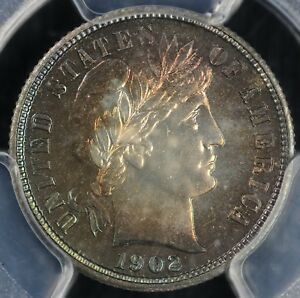 Click now to see the BUY IT NOW Price! 1902 10C PROOF BARBER DIME PCGS PR 65 CAM EX; LARRY SHAPIRO