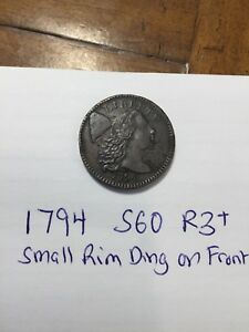1794 LARGE CENT TYPE S60