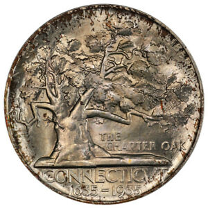 Click now to see the BUY IT NOW Price! 1935 50C CONNECTICUT PCGS MS67