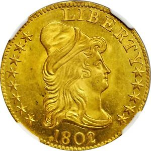 Click now to see the BUY IT NOW Price! 1802/1 GOLD HALF EAGLE NGC MS 65