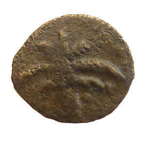 UNDER PREFECTS AND PROCURATORS JUDEA ROMAN AE PRUTAH ANCIENT AUTHENTIC   J 525