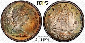 Click now to see the BUY IT NOW Price! 1966 CANADA 10C CENTS PCGS MS66 TOP GRADE NICE TONE