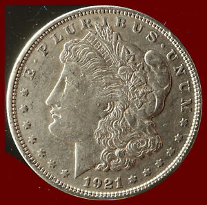 1921 P MORGAN 90  SILVER DOLLAR SHIPS FREE. BUY 5 FOR $2 OFF