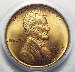 Click now to see the BUY IT NOW Price! 1909 S VDB PCGS MS66RD LINCOLN WHEAT CENT