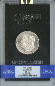 Click now to see the BUY IT NOW Price! 1879 CC MORGAN DOLLAR GSA HOARD S$1 NGC MS65