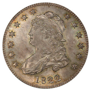 Click now to see the BUY IT NOW Price! 1822 25C BR 1 PCGS MS65