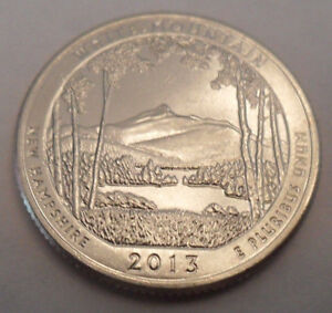 2013 S WHITE MOUNTAIN QUARTER    BU   FROM MINT ROLL