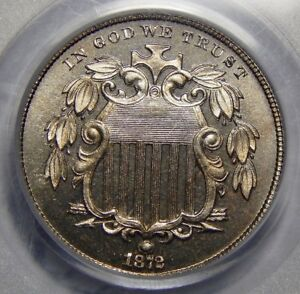 Click now to see the BUY IT NOW Price! 1872 PCGS/CAC PR66 CAMEO SHIELD NICKEL