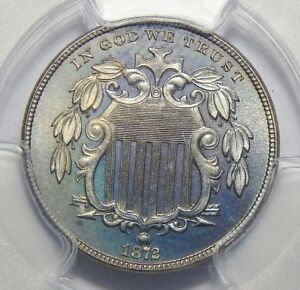 Click now to see the BUY IT NOW Price! 1872 PCGS/CAC PR67 SHIELD NICKEL