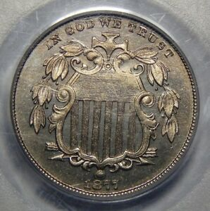 Click now to see the BUY IT NOW Price! 1877 PCGS PR66 CAMEO SHIELD NICKEL