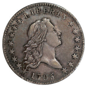 Click now to see the BUY IT NOW Price! 1795 50C 2 LEAVES O 121 T 2 HIGH R.4 PCGS AU58