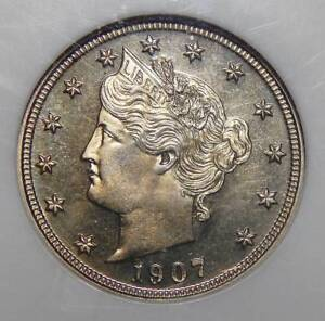 Click now to see the BUY IT NOW Price! 1907 NGC PF66 CAMEO LIBERTY NICKEL