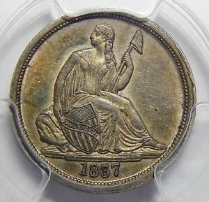 Click now to see the BUY IT NOW Price! 1837 PCGS AU55 NO STARS LG DATE SEATED LIBERTY DIME