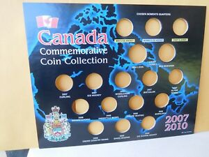 CANADA: 2007 / 2010 COMMEMORATIVE  WINTER OLYMPICS  25 CENT  HOLDER   4