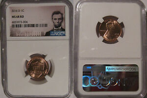 Click now to see the BUY IT NOW Price! 2016 D LINCOLN SHIELD CENT 1C NGC MS 68 RD LINCOLN LABEL LAST ON HAND