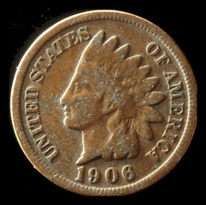 1906 P INDIAN CENT SHIPS FREE. BUY 5 FOR $2 OFF