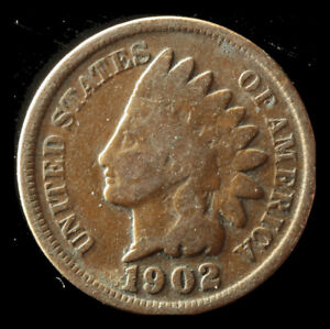 1902 P INDIAN CENT SHIPS FREE. BUY 5 FOR $2 OFF
