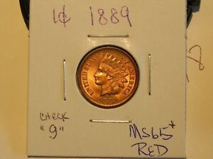 Click now to see the BUY IT NOW Price! STUNNING 1889 INDIAN HEAD CENT PENNY COIN MS BU UNC       PLUS ERROR J
