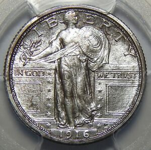 Click now to see the BUY IT NOW Price! 1916 PCGS MS64 STANDING LIBERTY QUARTER