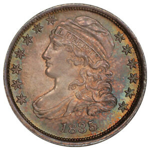 Click now to see the BUY IT NOW Price! 1835 10C JR 3 R.2 PCGS MS65 CAC