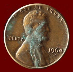 1964 D LINCOLN CENT SHIPS FREE. BUY 5 FOR $2 OFF