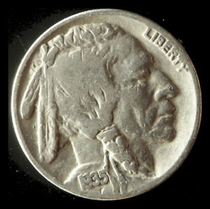 1935 P BUFFALO NICKEL SHIPS FREE. BUY 5 FOR $2 OFF