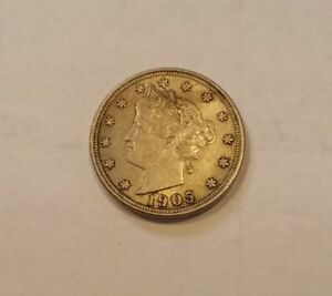 Click now to see the BUY IT NOW Price! 1905 LIBERTY NICKEL AU  5