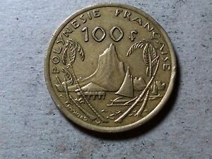 FRENCH POLYNESIA 100 FRANCS 2009 BIG EXOTIC COIN