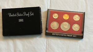 1981 US MINT PROOF SET W/BOX AND DISPLAY BOX OPTION   CHECK IT OUT 1