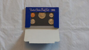 1983 US MINT PROOF SET W/BOX    CHECK IT OUT   2