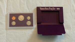 1984 US MINT PROOF SET W/BOX    CHECK IT OUT   2