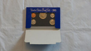 1983 US MINT PROOF SET W/BOX    CHECK IT OUT   1
