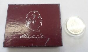 LOT OF TWO  2  1982 GEORGE WASHINGTON 250TH BIRTHDAY COMMEMORATIVE SILVER COINS