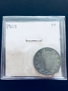 Click now to see the BUY IT NOW Price! VERY  1903 LIBERTY NICKEL 3  ERRORS LAMINANT ROTATION DIE