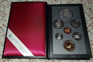 1993 STANLEY CUP CANADIAN COINAGE PROOF SET