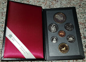 1992 STAGECOACH SERVICE CANADIAN COINAGE PROOF SET