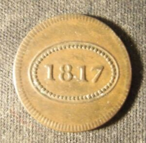 PARK THEATER NYC  1817  ADMIT COIN