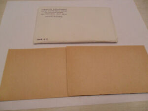 1964 MINT SET ENVELOPE ONLY  NO COINS